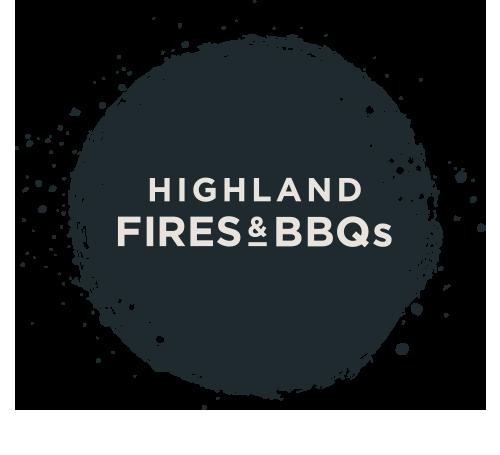 Highland Fires & BBQs Logo