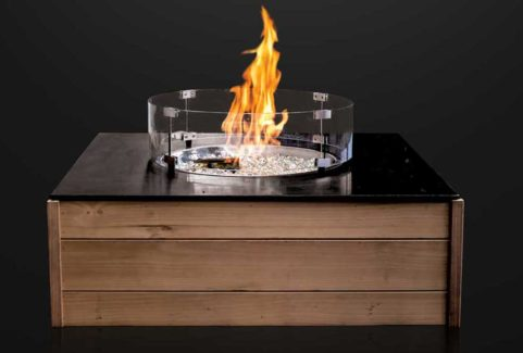 Patio Horizon Onyx Outdoor Firepit