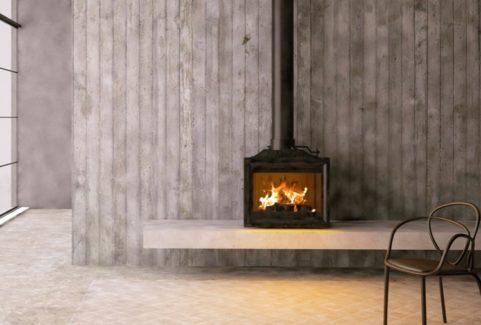 Living Fire Modica 600 Freestanding