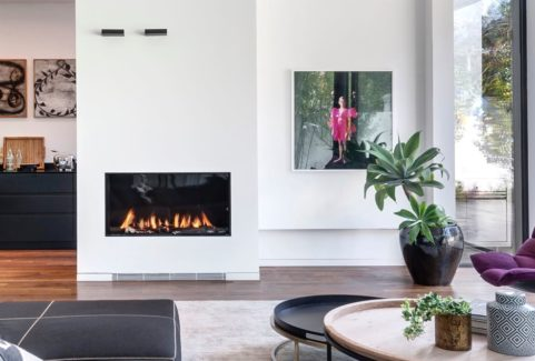 Ortal Single-sided Gas Fires